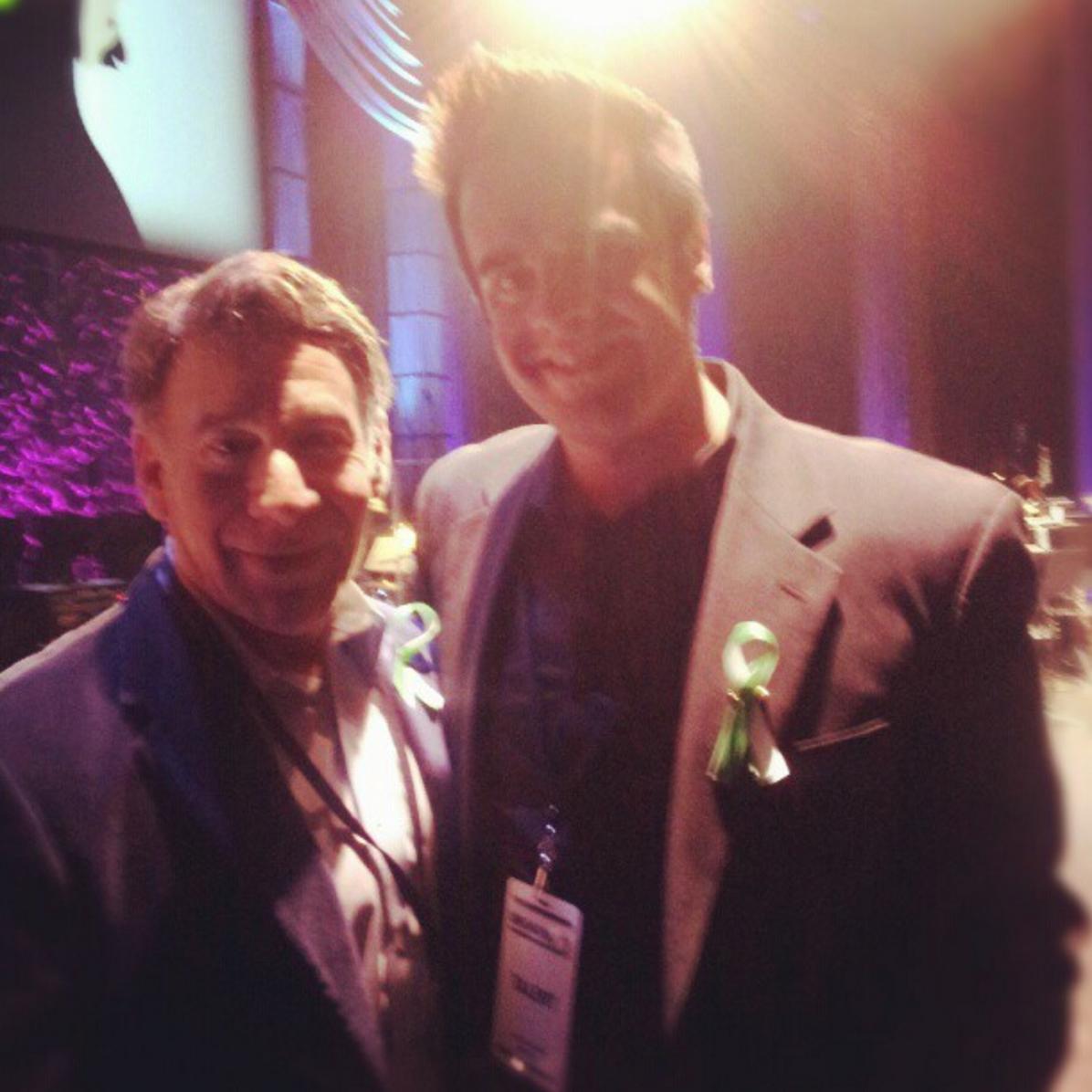 Michael J Moritz Jr with Stephen Schwartz
