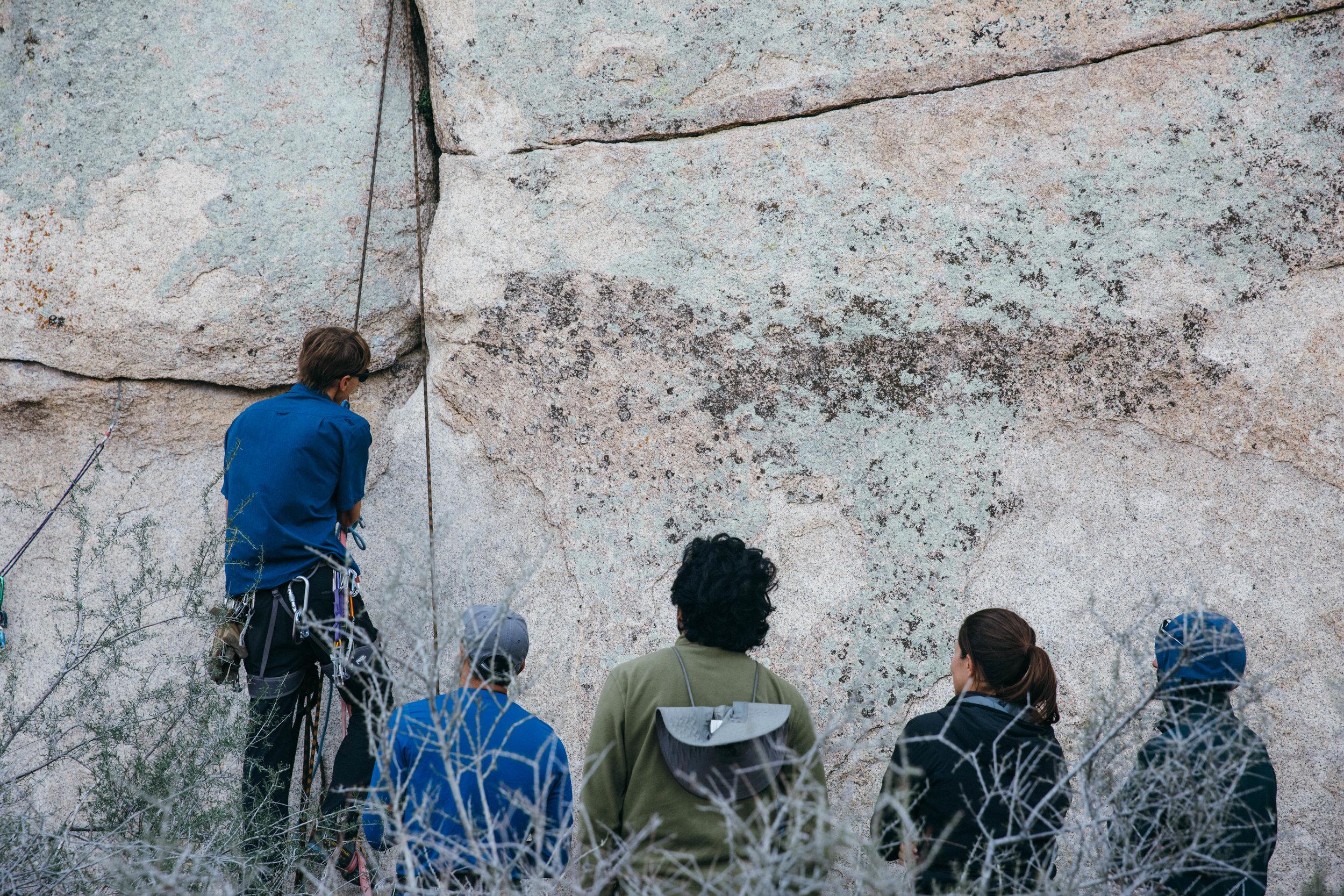 Hans Florine - Aid Climbing clinic