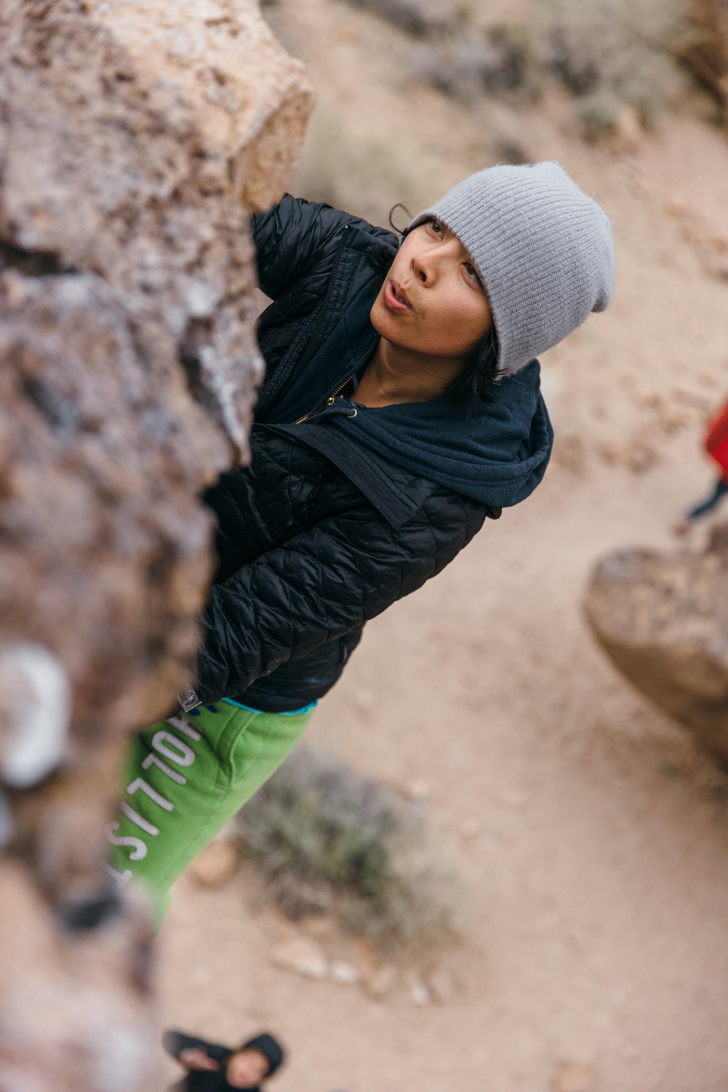 Climbing at the Happies