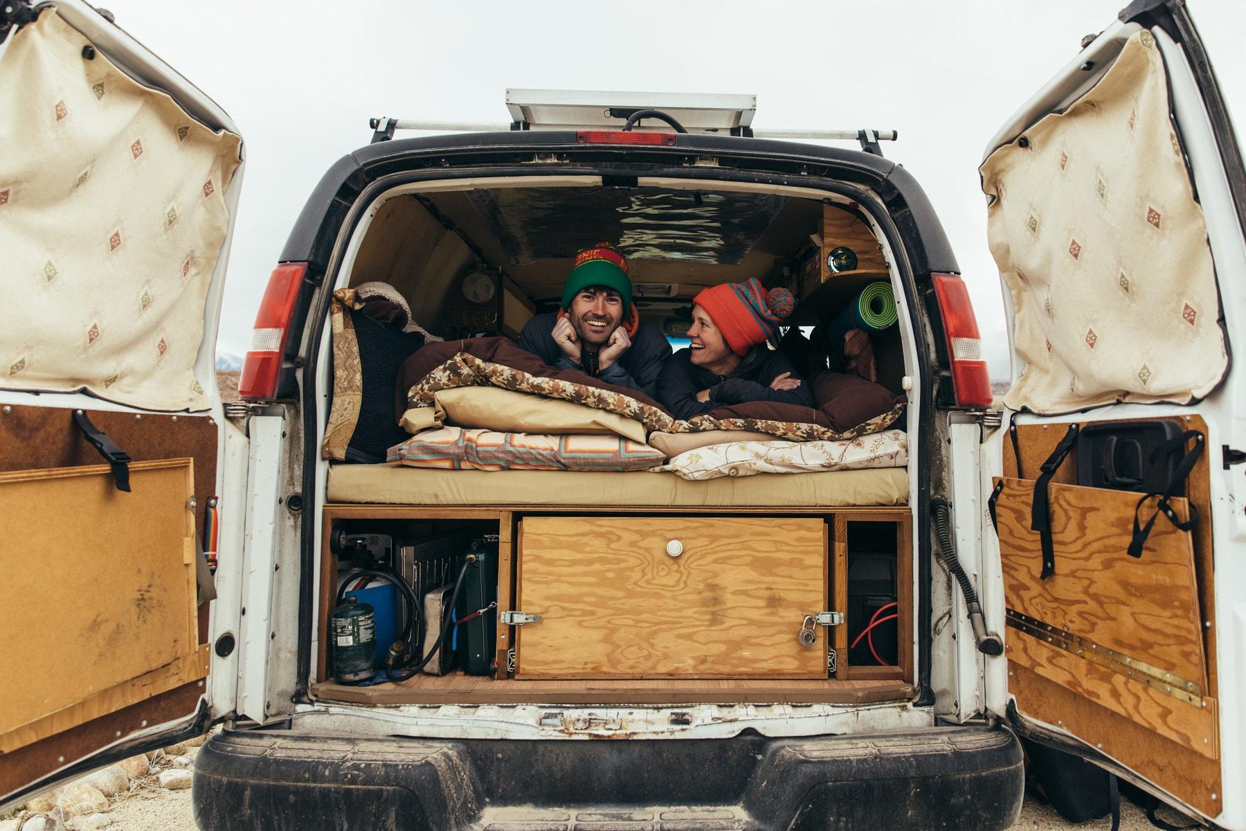 moja gear dirtbag dwelling series - Photographed