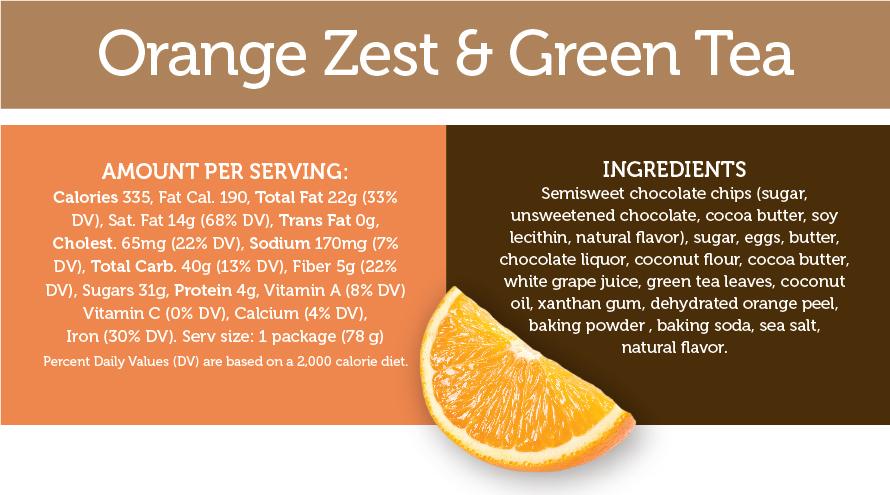 Orange Zest & Green Tea
