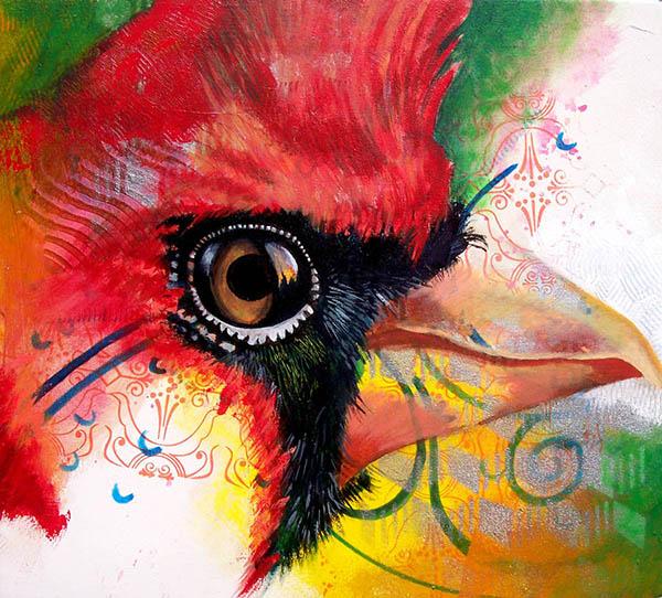 Cardinal by Marwin Begaye