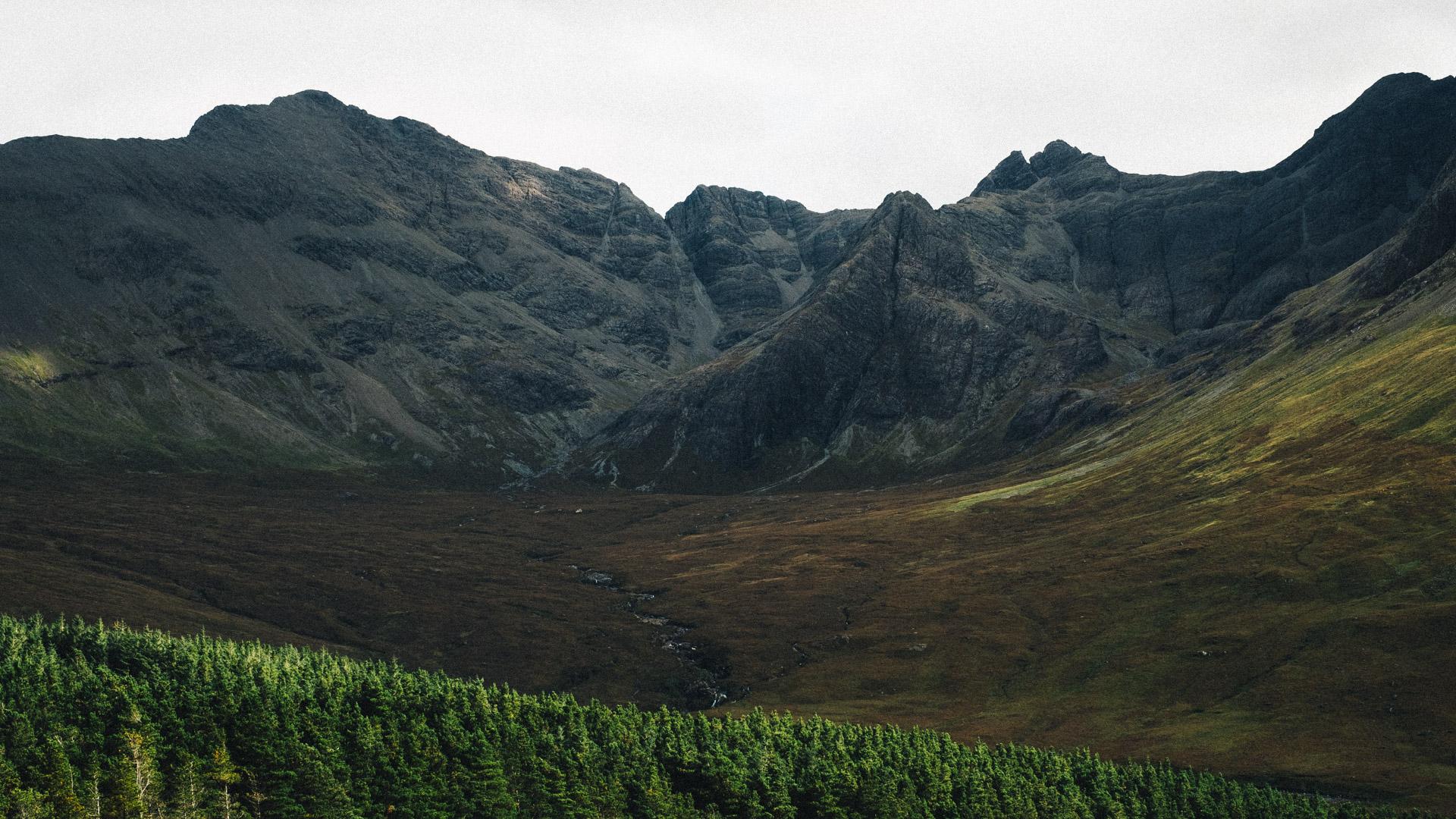 Black Cuillin Mountains, Isle of Skye, Scotland