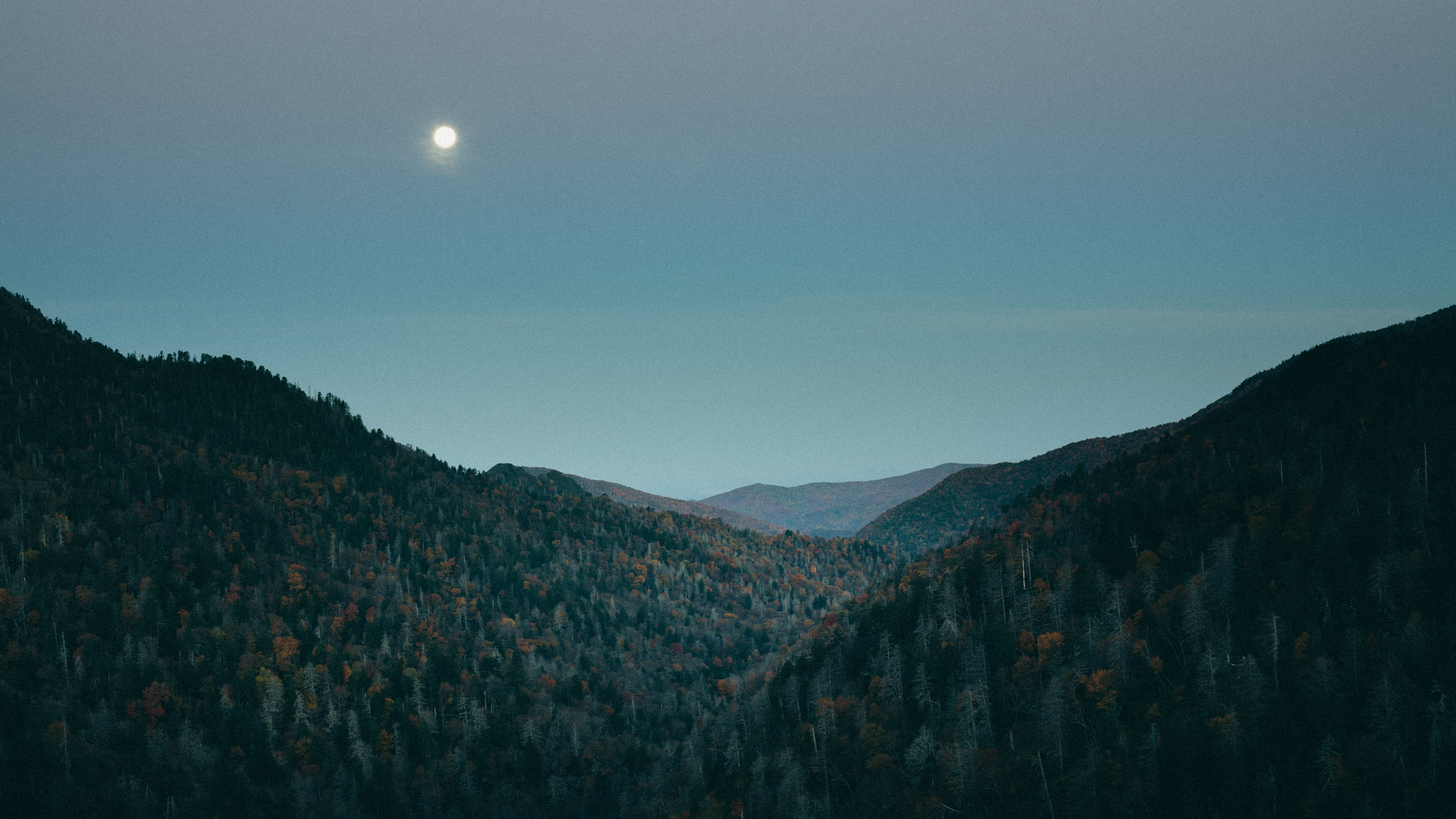 Morton's Overlook, Great Smoky Mountains, Tennessee