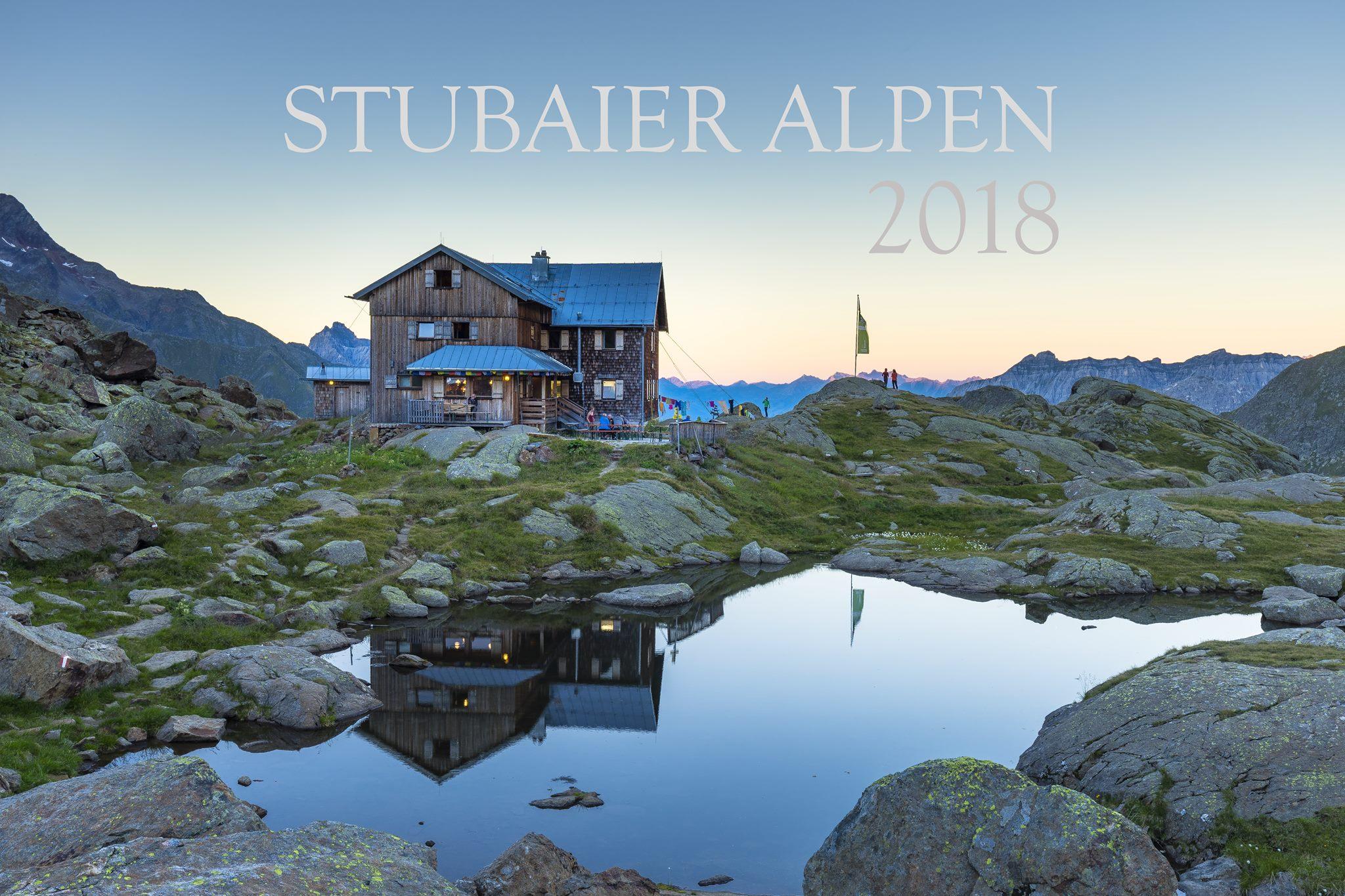 """Diese Aufnahme war das Titelmotiv meines letzten Kalenders """"Stubaier Alpen""""."""