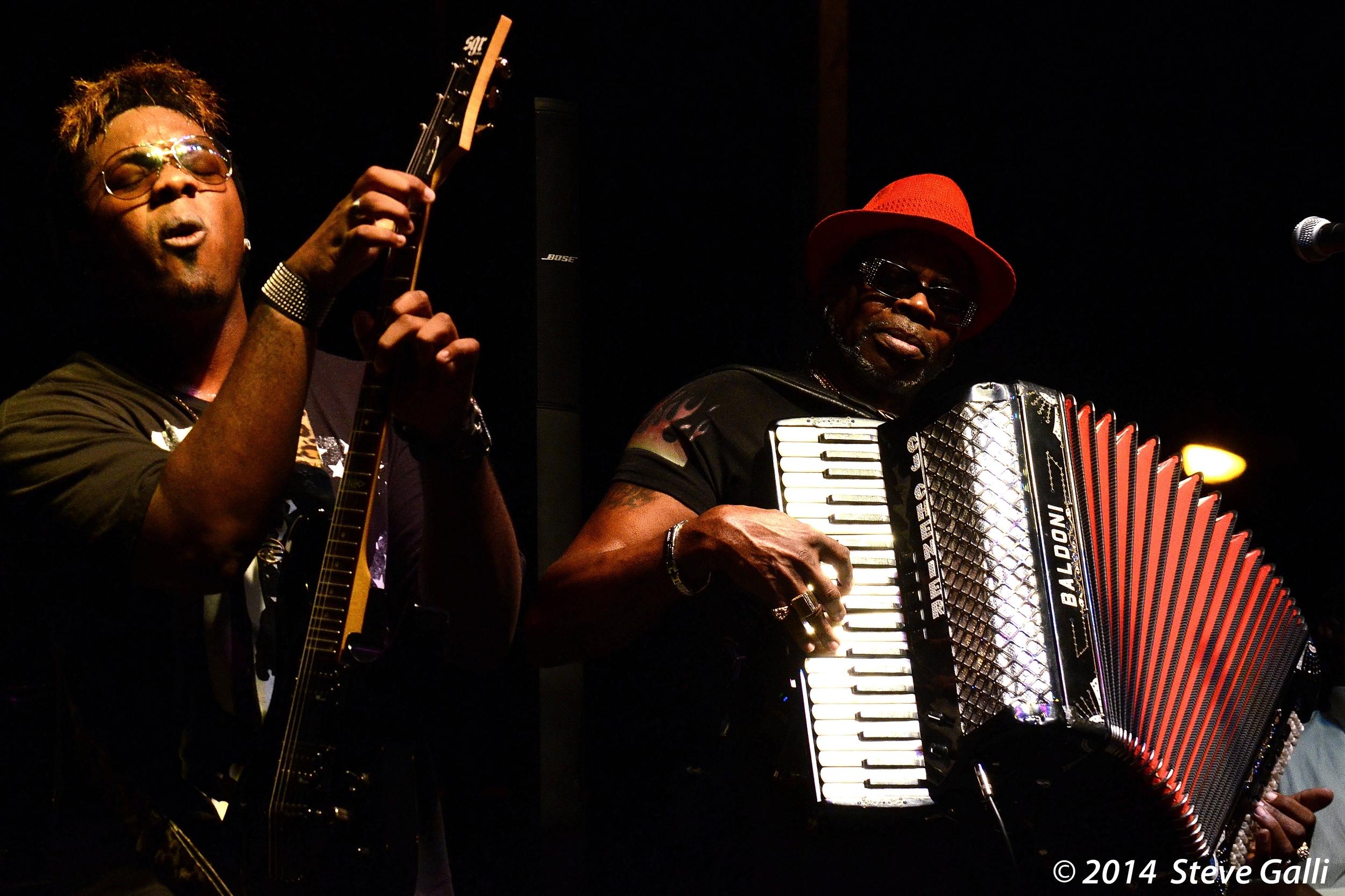 C.J. Chenier & The Red Hot Louisiana Band