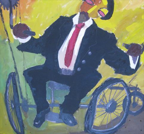 The Drunk in a Wheelchair
