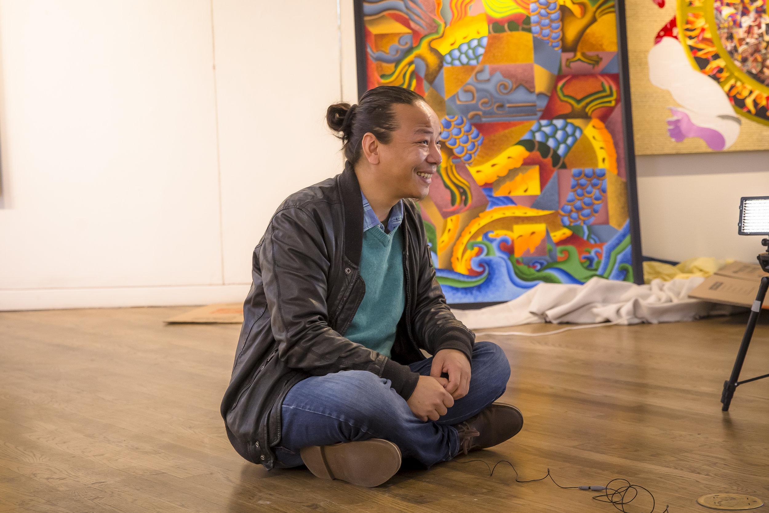 Tenzing Rigdol, Artist and Alumni