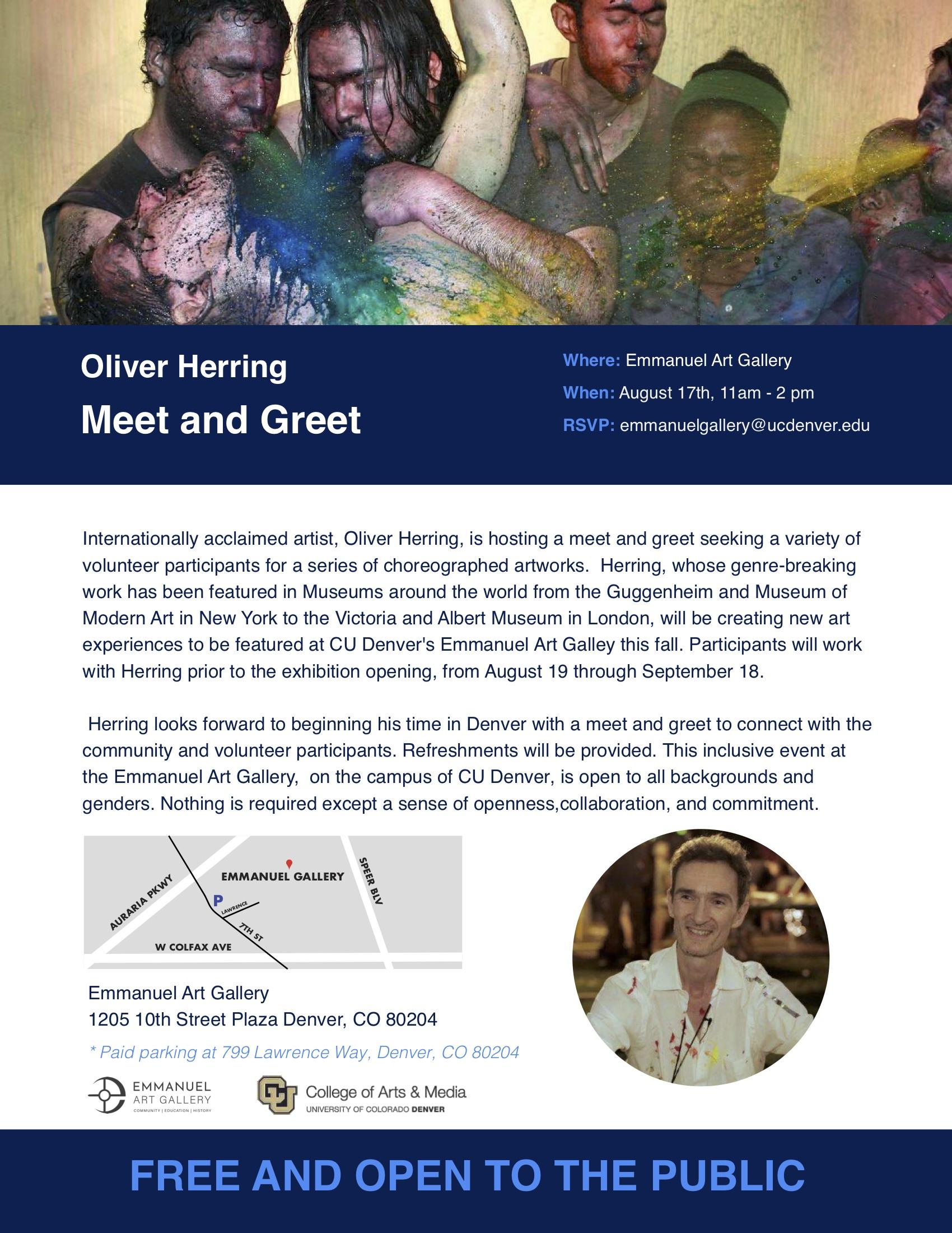 Oliver Herring meet and greet .jpg