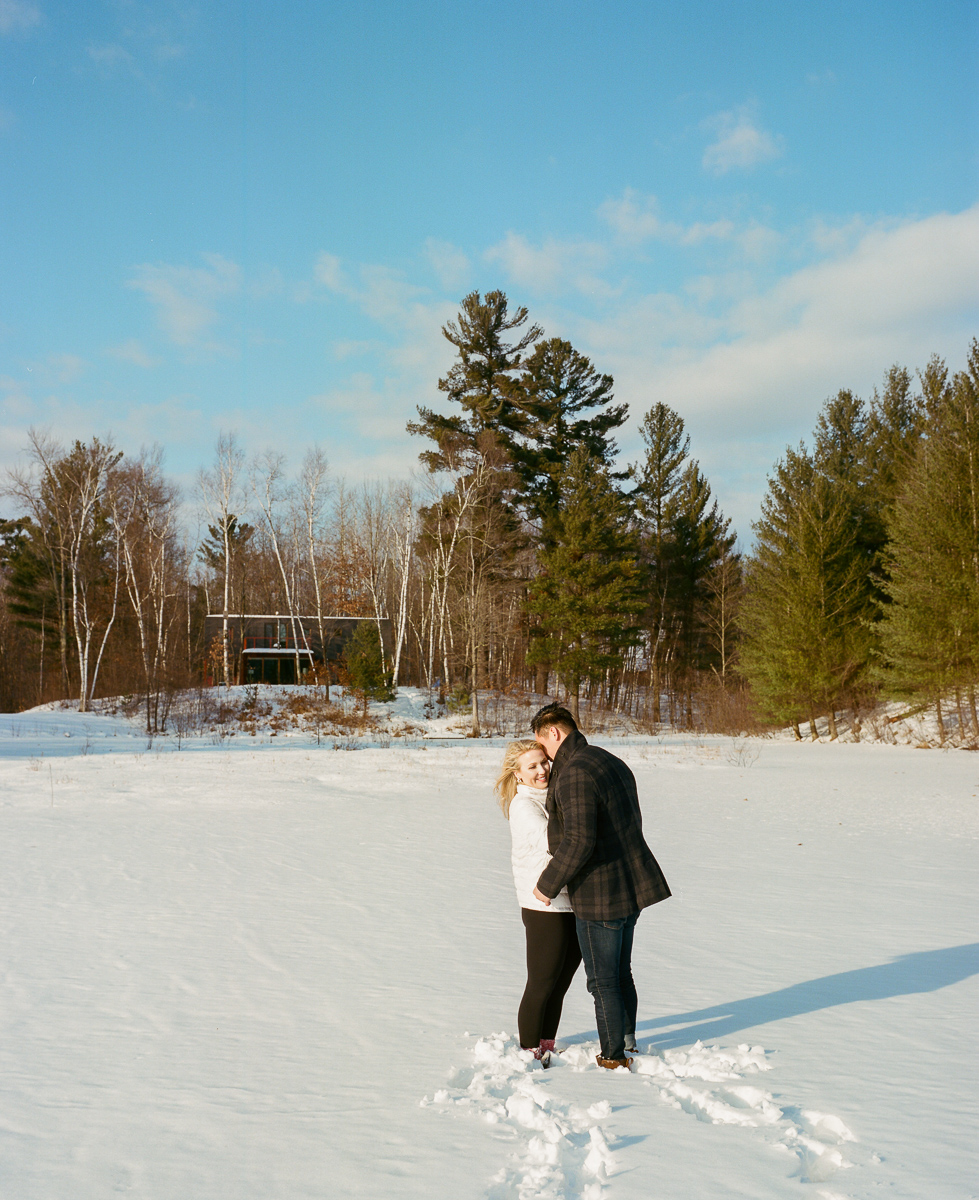 Northwoods Engagement Session on film-33.jpg