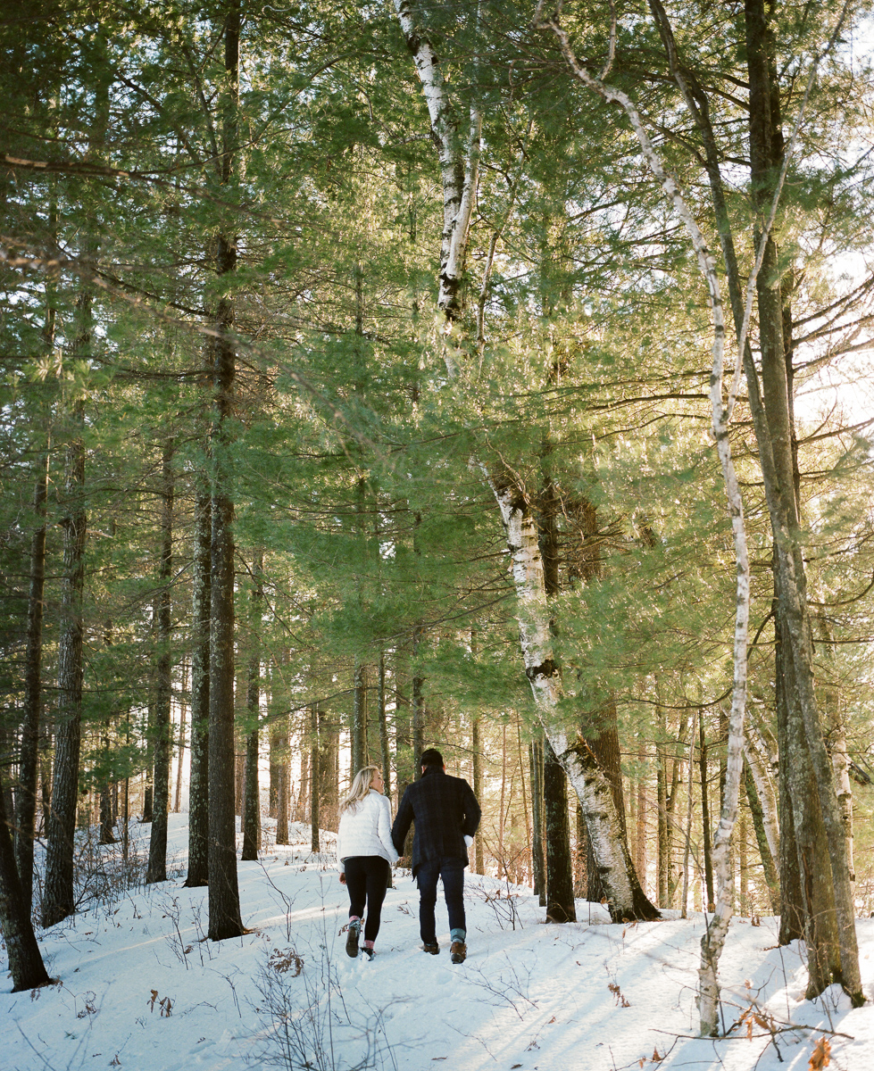 Northwoods Engagement Session on film-40.jpg