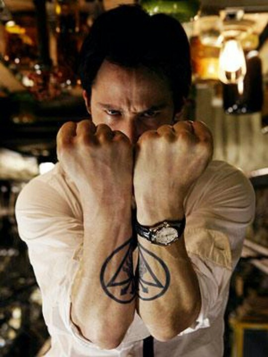 Keanu's ink was cool, I guess.   Image credit: pintrest.com
