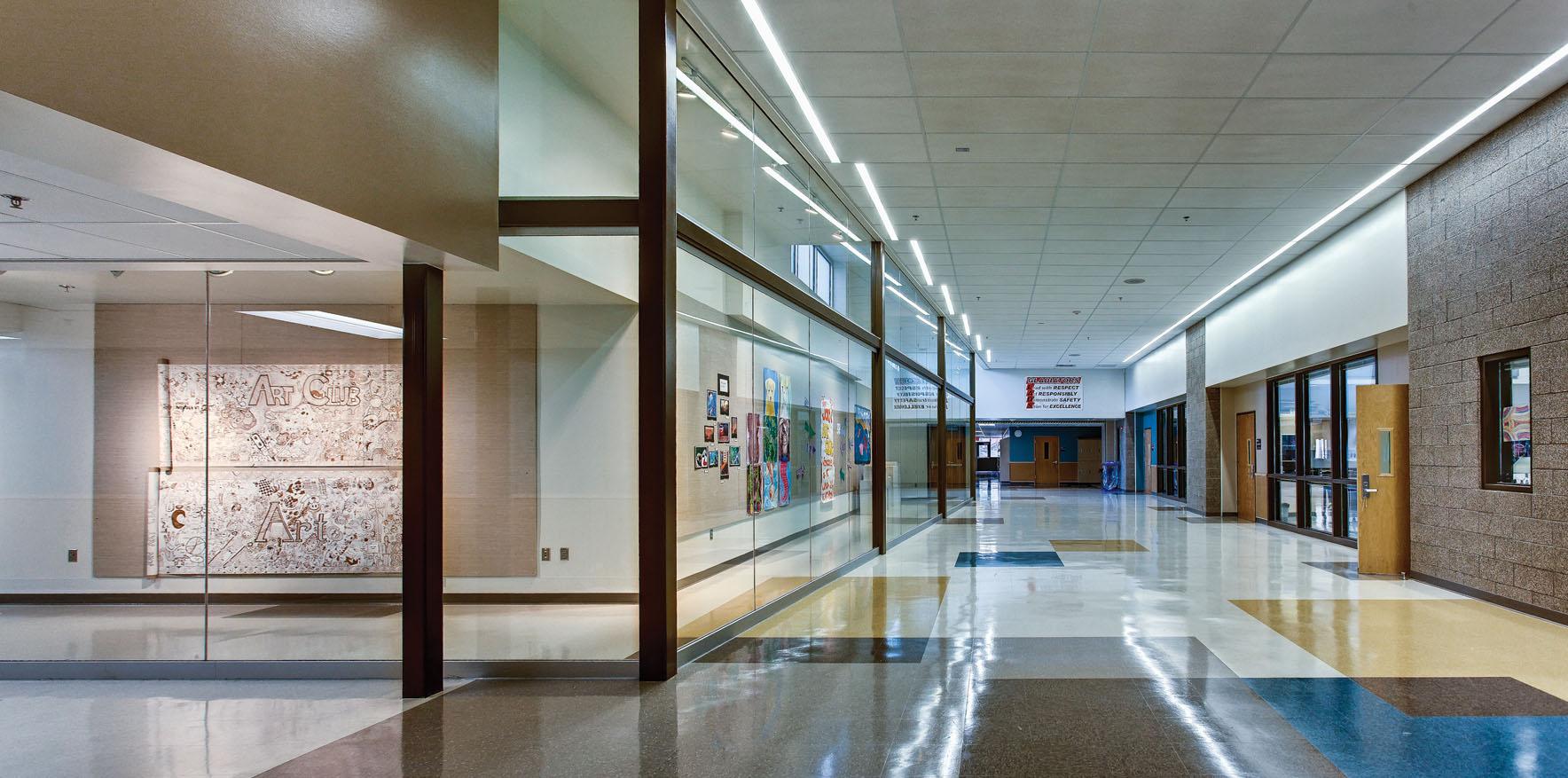 Interior, Gallery & Hallway [Photo by Gary Wilson]