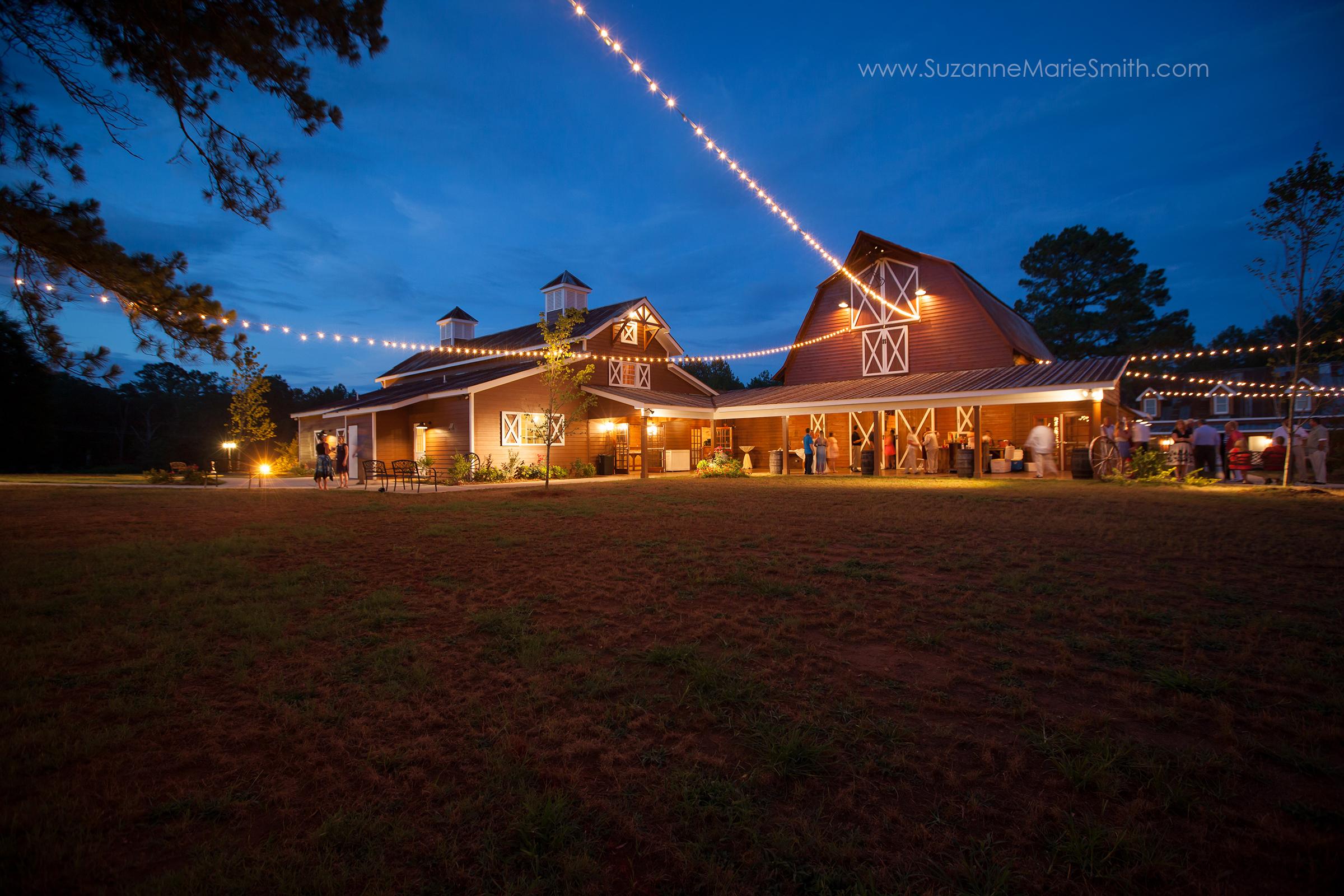 9 Oaks Farm at Night
