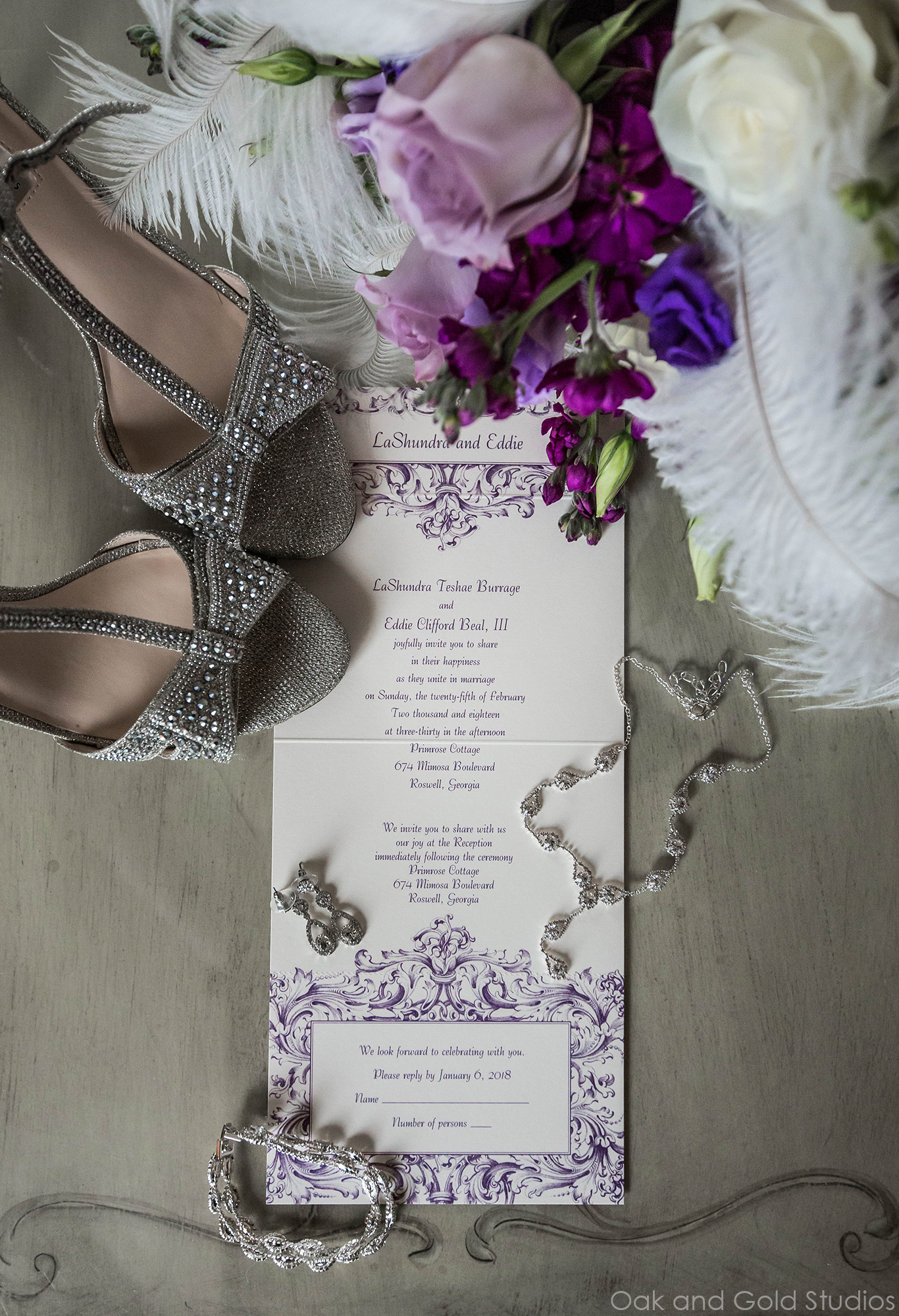 ultra voilet wedding invitation.jpg