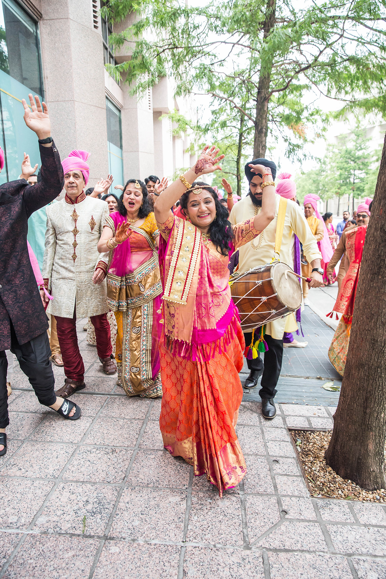 Charlotte_downtown_baraat