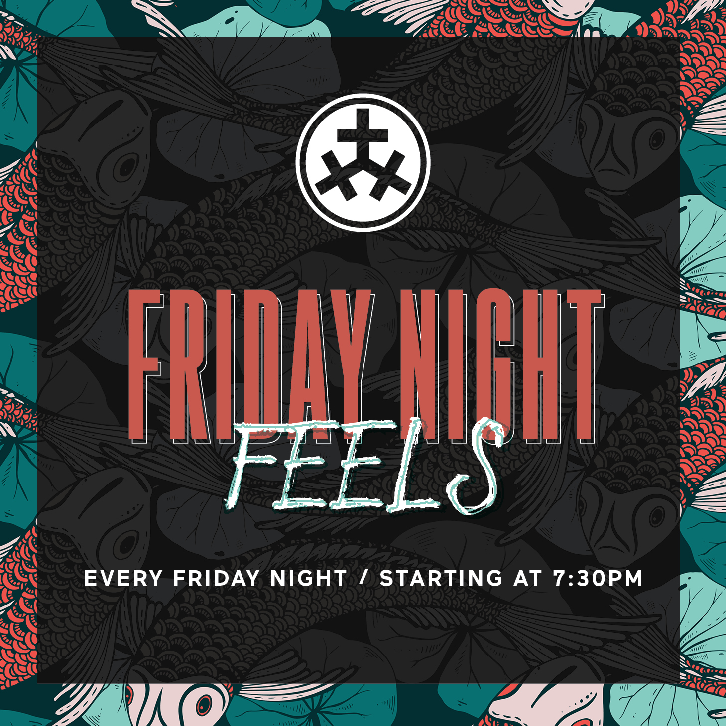 Friday Night Feels - Every Friday night we'll be serving up live music by local musicians. Also, enjoy some late night eats and drink specials!