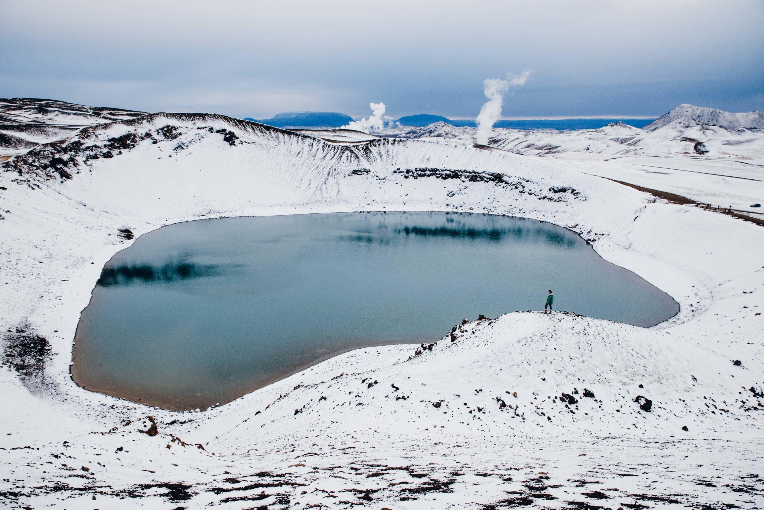 Viti crater.