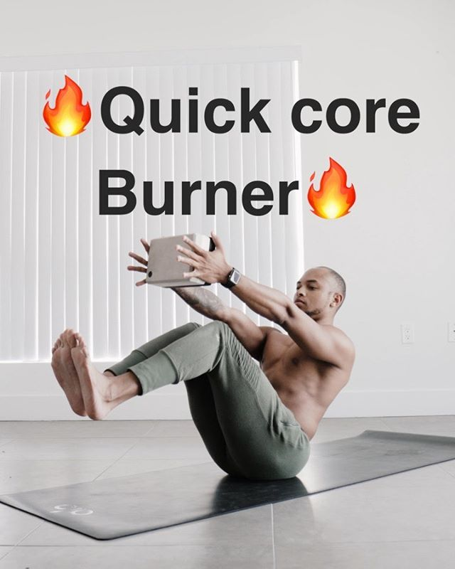 3 dope little core exercises you can do wherever and whenever. It's a small little circuit but I promise you your abs will be on FIRE. Swipe left to see the other two exercises and remember..don't be so hard on yourself...you're navigating through life like the rest of us. You are strong and you are worthy...now lesssssgooooo. - Save this so you can do it anywhere 😏