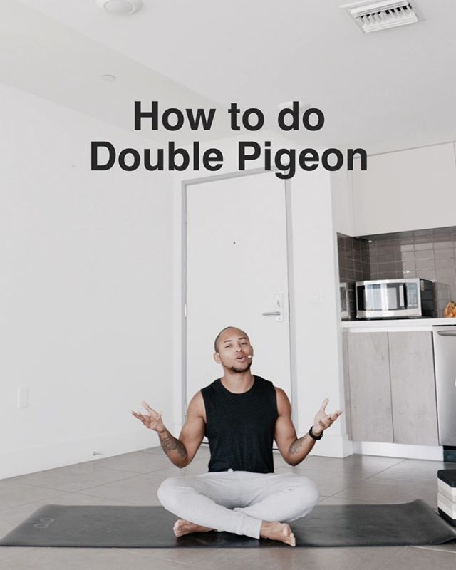 When I first did double pigeon I pretty much couldn't even get into the damn position because it was so uncomfortable and I so wish I had someone to help me understand it and modify it! Here's an awesome tutorial on how to get into the pose as well as modifying the pose for tighter individuals. Remember my friends…you don't have to be perfect to be amazing. - If you wanna come get stretchy tonight come to my class at @the_yogacollective (Santa Monica location) 7:45 for my special deep stretch and meditation.