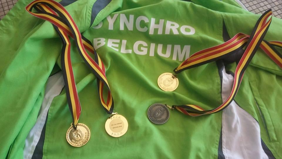 4 medailles voor onze dames. Proficiat!