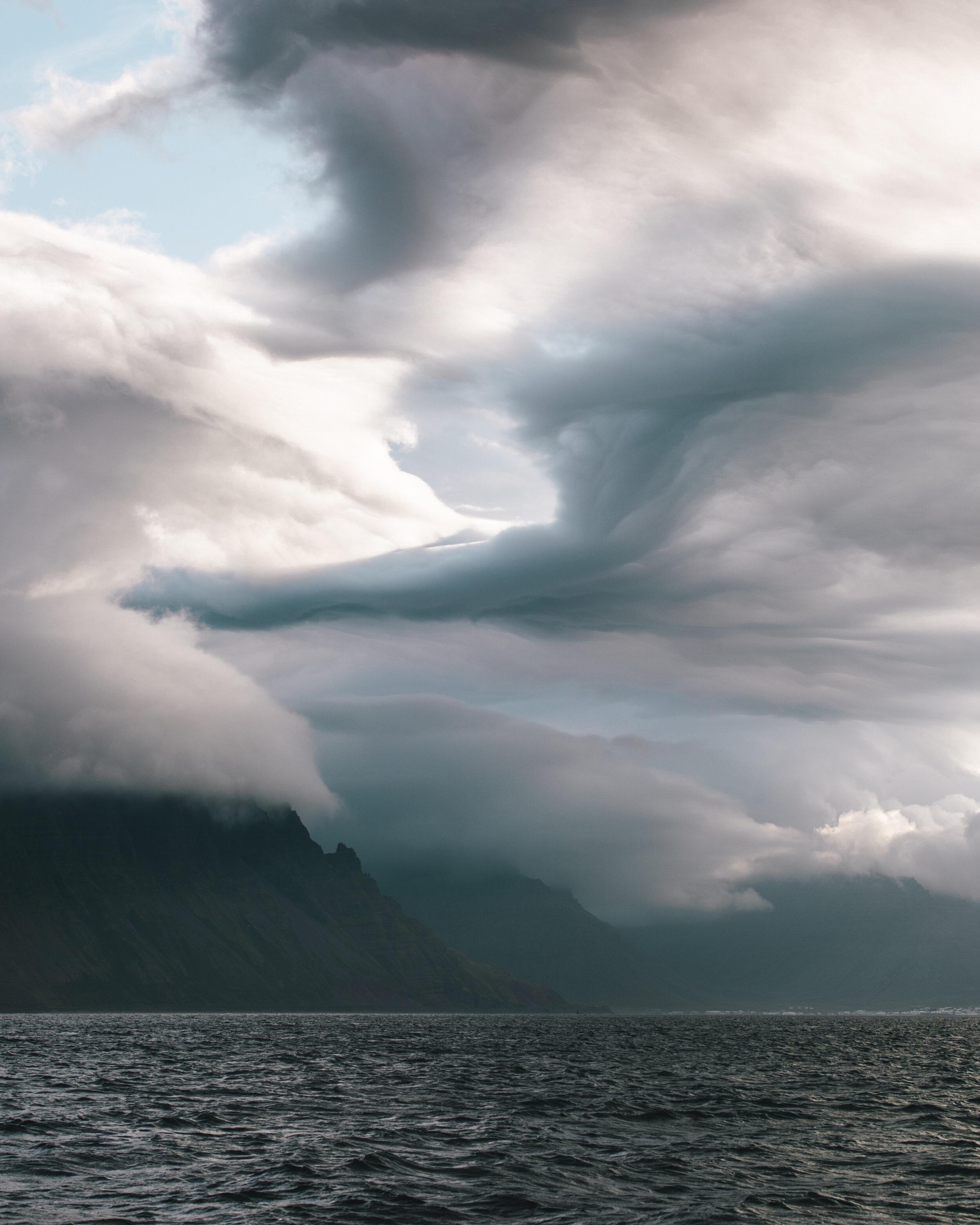 Arctic Sailing - Midnight Sun