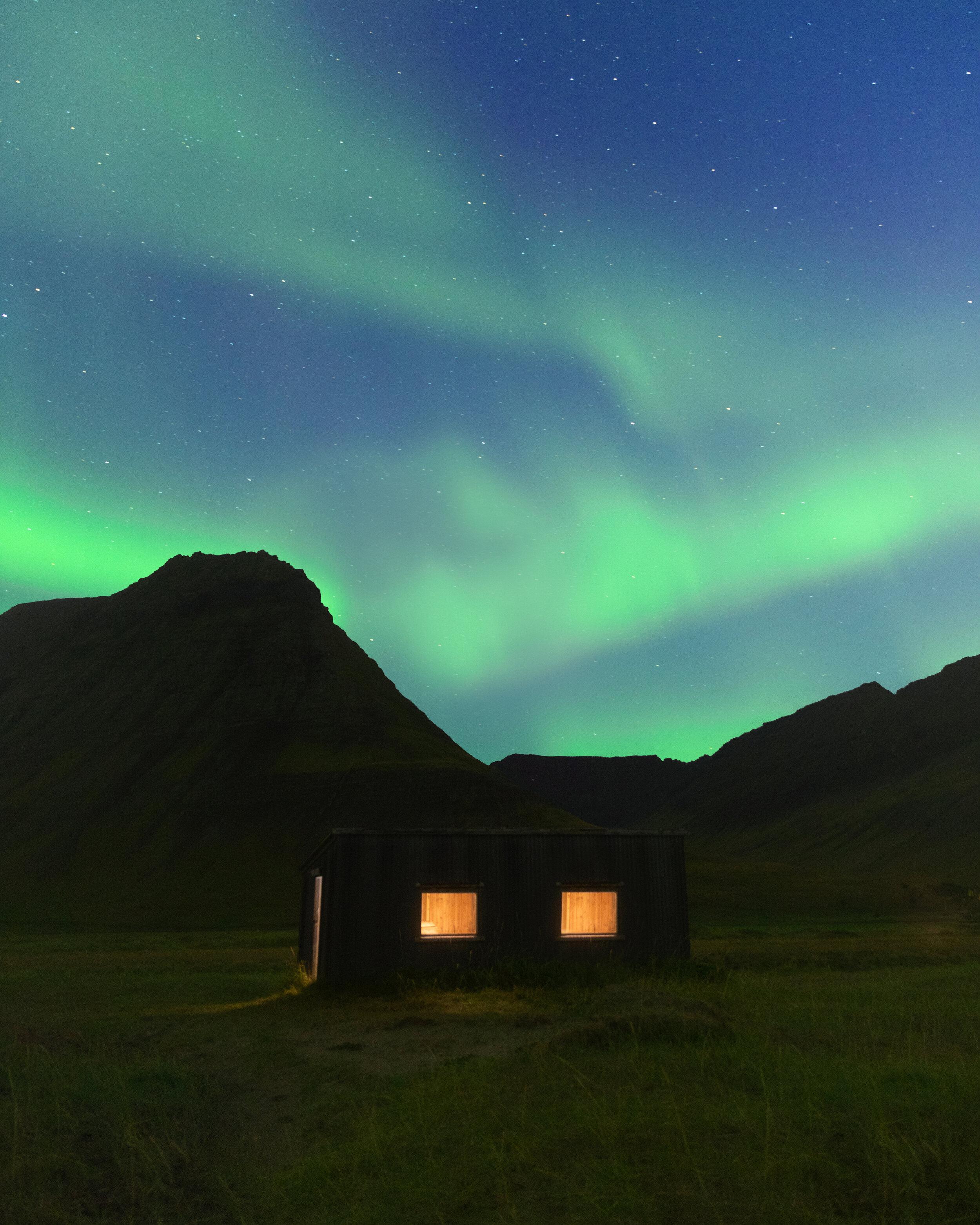 Flateyri Northern Lights