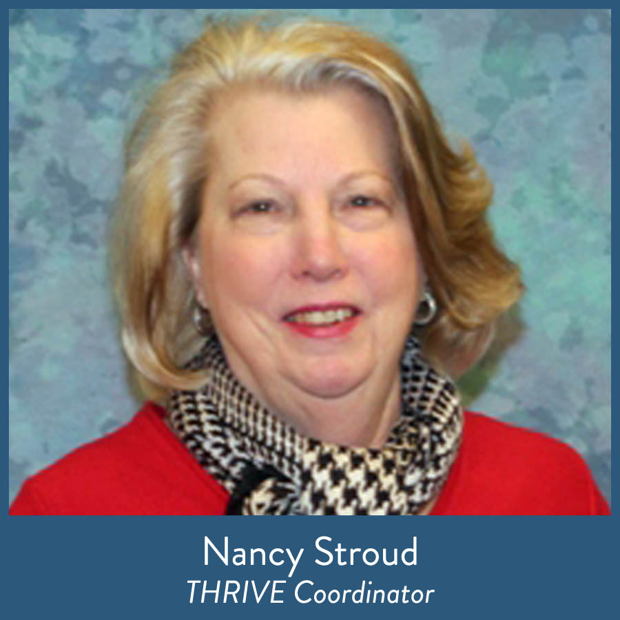 Nancy Stroud, THRIVE Coordinator