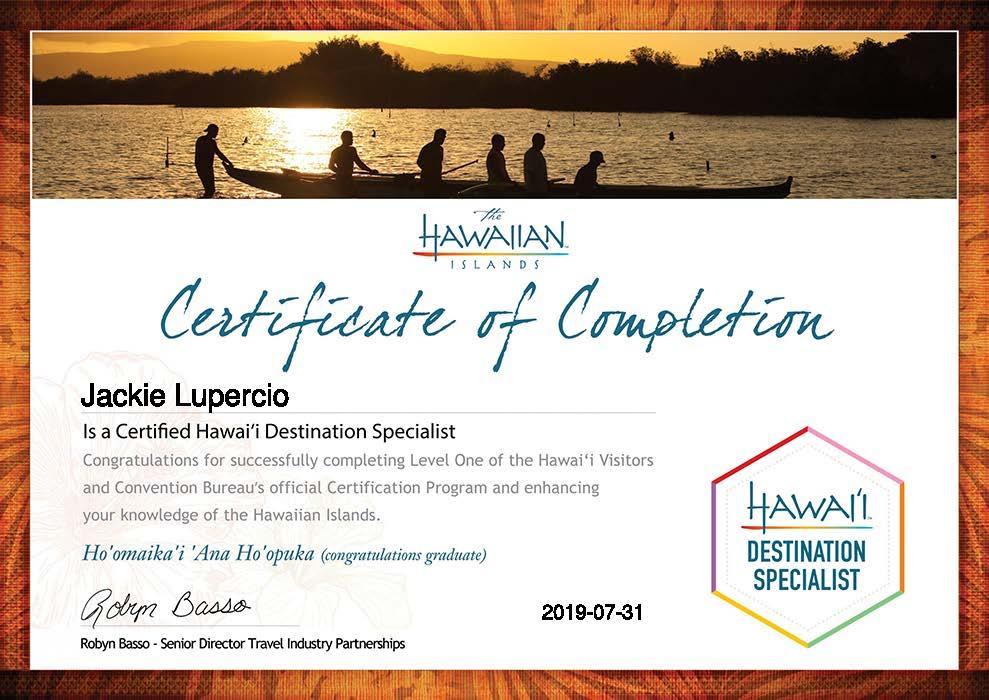 Jackie-Lupercio-Certification Two_ Selling the Hawaiian Islands-Certificate.jpg
