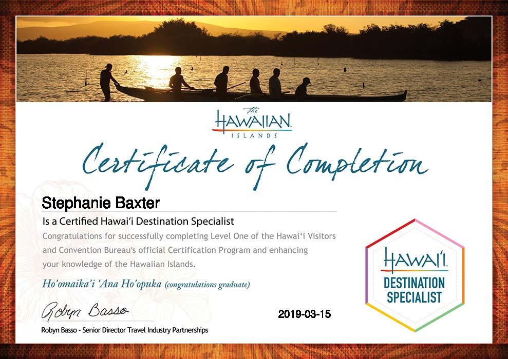 Stephanie-Baxter-Certification Two_ Selling the Hawaiian Islands-Certificate.jpg