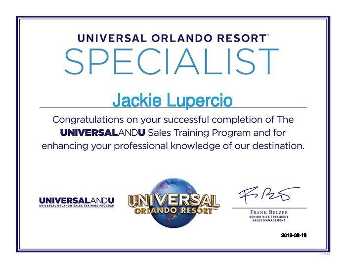 Jackie-Lupercio-Universal Orlando Training - Travel Agents-Certificate.jpg