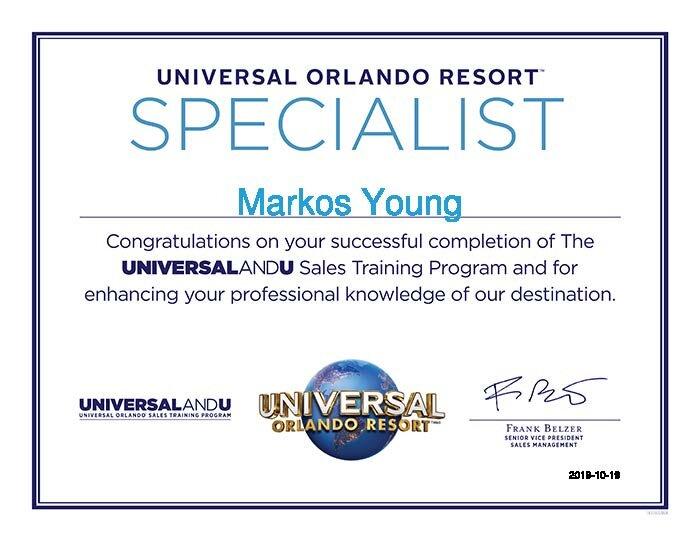 Markos-Young-Universal Orlando Training - Travel Agents-Certificate.jpg