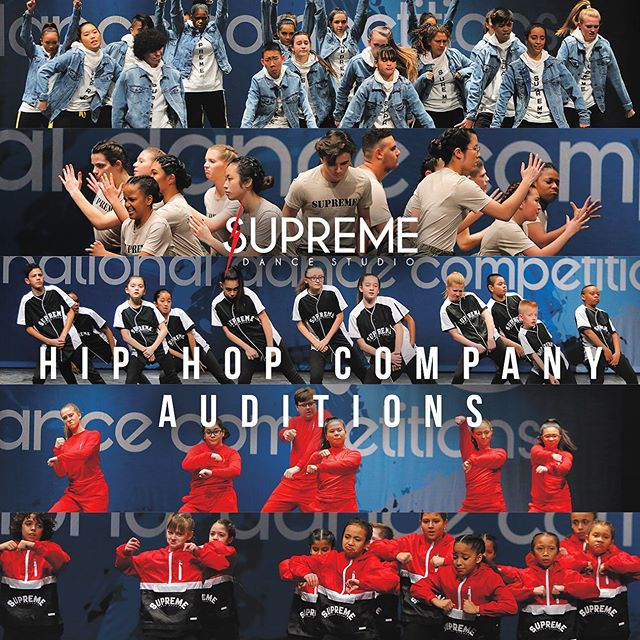 Whether you are a beginner or advanced level dancer, our Supreme Companies are a fun and exciting experience for everyone! Auditions will be held on Sunday, August 18th 2019 at Supreme Dance Studio. It is absolutely free to audition, so feel free to invite your friends. Dancers are to wear comfortable clothes with clean gym shoes. Following the audition, each student will receive an email with their audition results, extended company information, along with a suggested Program Session class list. Pre-register today for auditions at supremedancestudio.com  Please Contact us today for in class Axis auditions!  Location: Supreme Dance Studio 4055 Oakton St. Skokie IL, 60076  Date: Sunday, August 18th 2019  Times: Ages 8 - 12 1:00pm -3:30pm Ages 13+ 4:00pm - 6:00pm