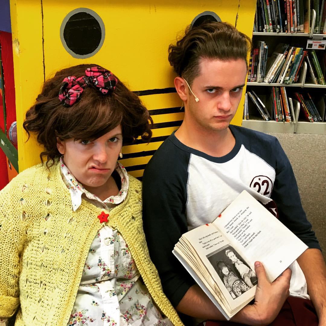 Bekah Medford & Ty Autry in Junie B Jones: The Musical