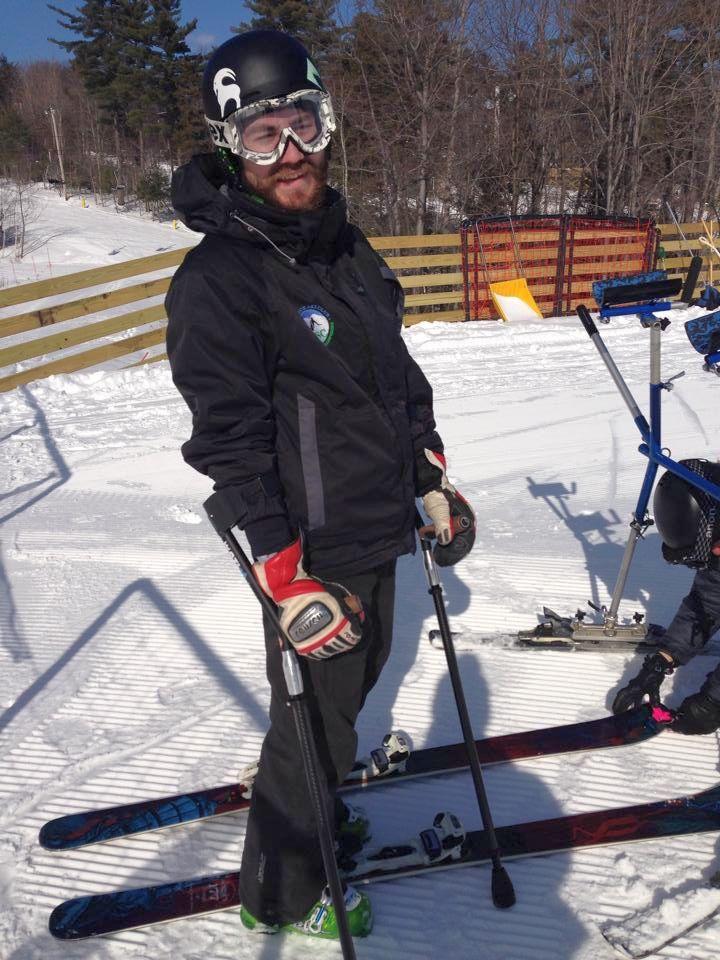 Evan enjoying a day on the slopes
