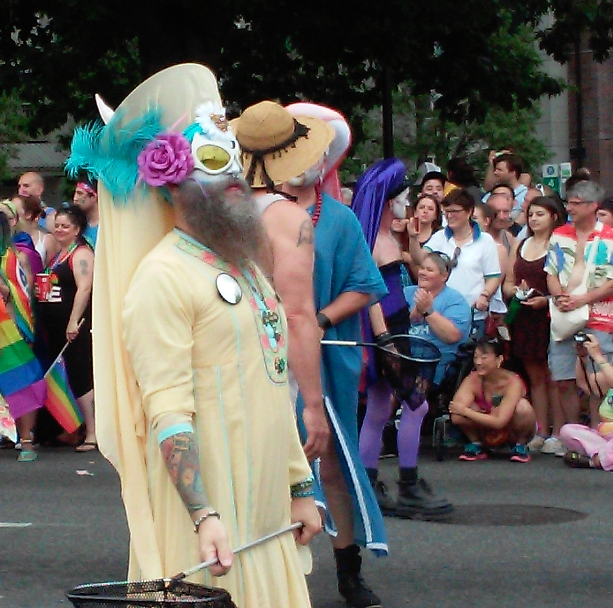 The Sisters of Perpetual Indulgence at 2015 Seattle Pride Parade (c) Martha Burwell