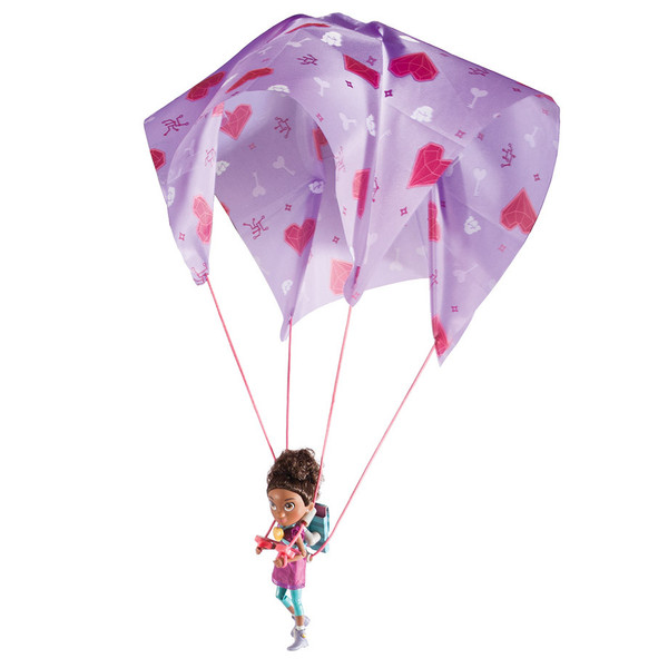 """""""Ruby Rails"""" Skydive action figure, by GoldieBlox"""
