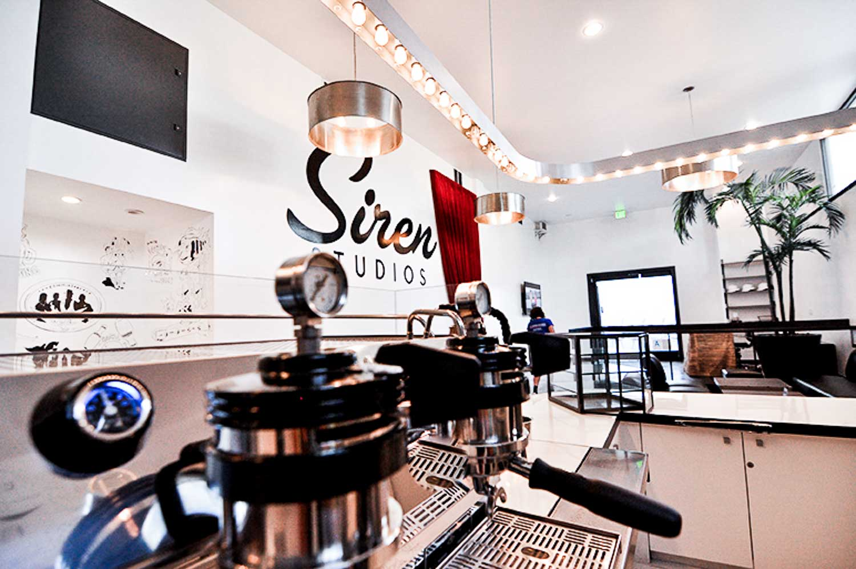 SIREN STUDIOS + COFFEE COMMISSARY