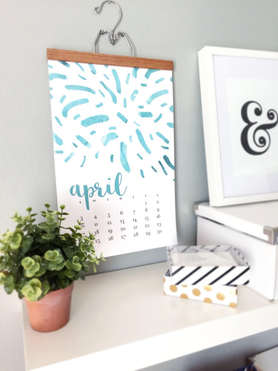 2016 Monthly Wall Calendar