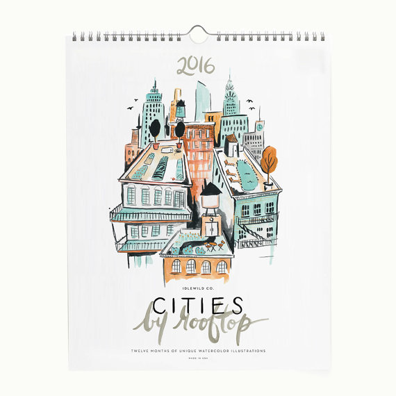 Cities by Rooftop Calendar