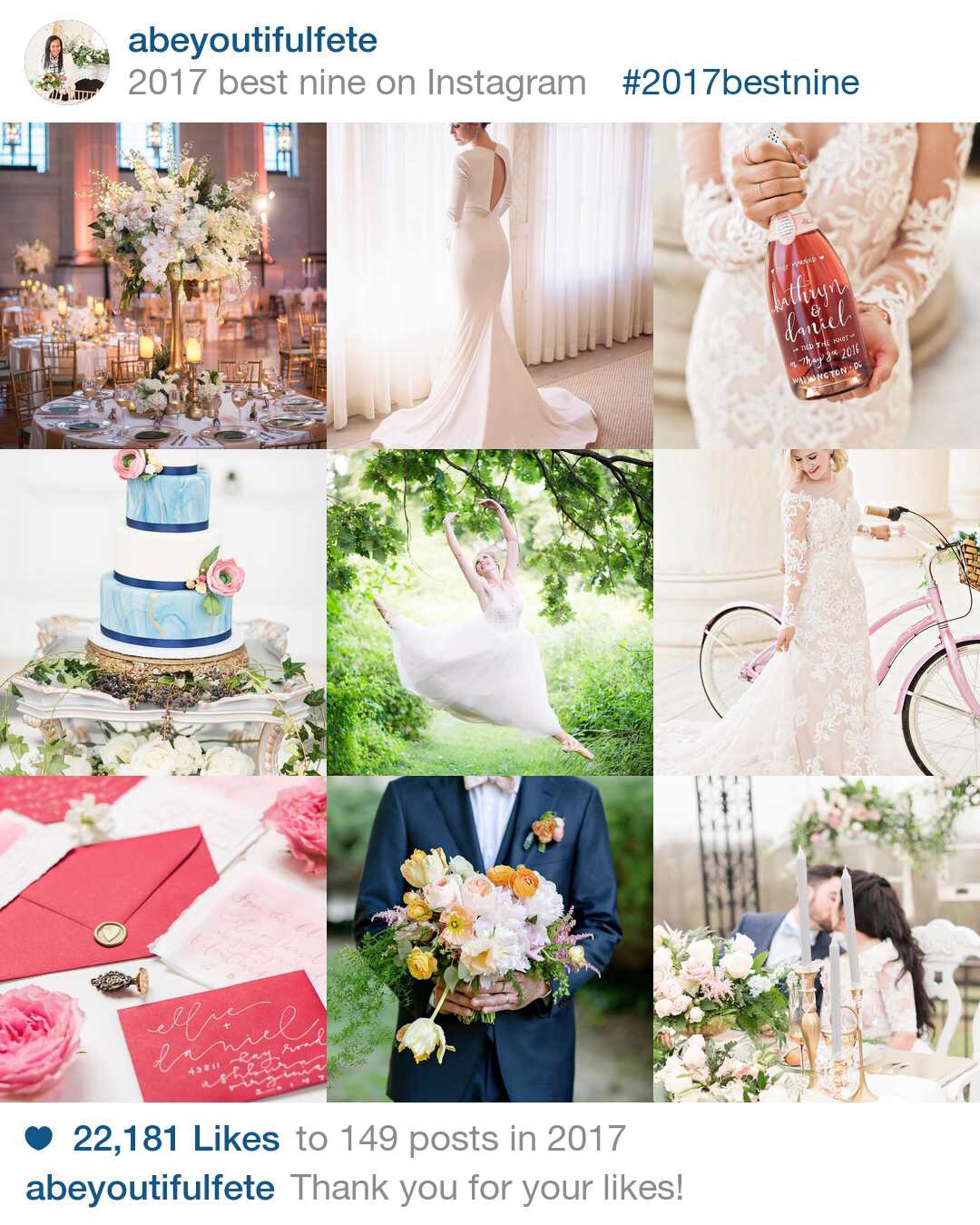 a beyoutiful fete event design - 2017 best nine instagram post - virginia -washington dc - charlosttesville - wedding planner.JPG
