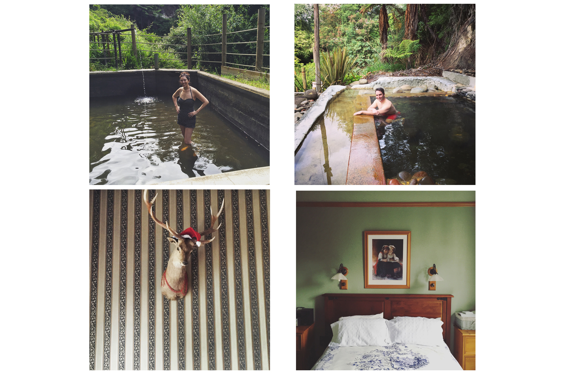 Rustic design and hot springs at Okoroire Hot Springs Hotel