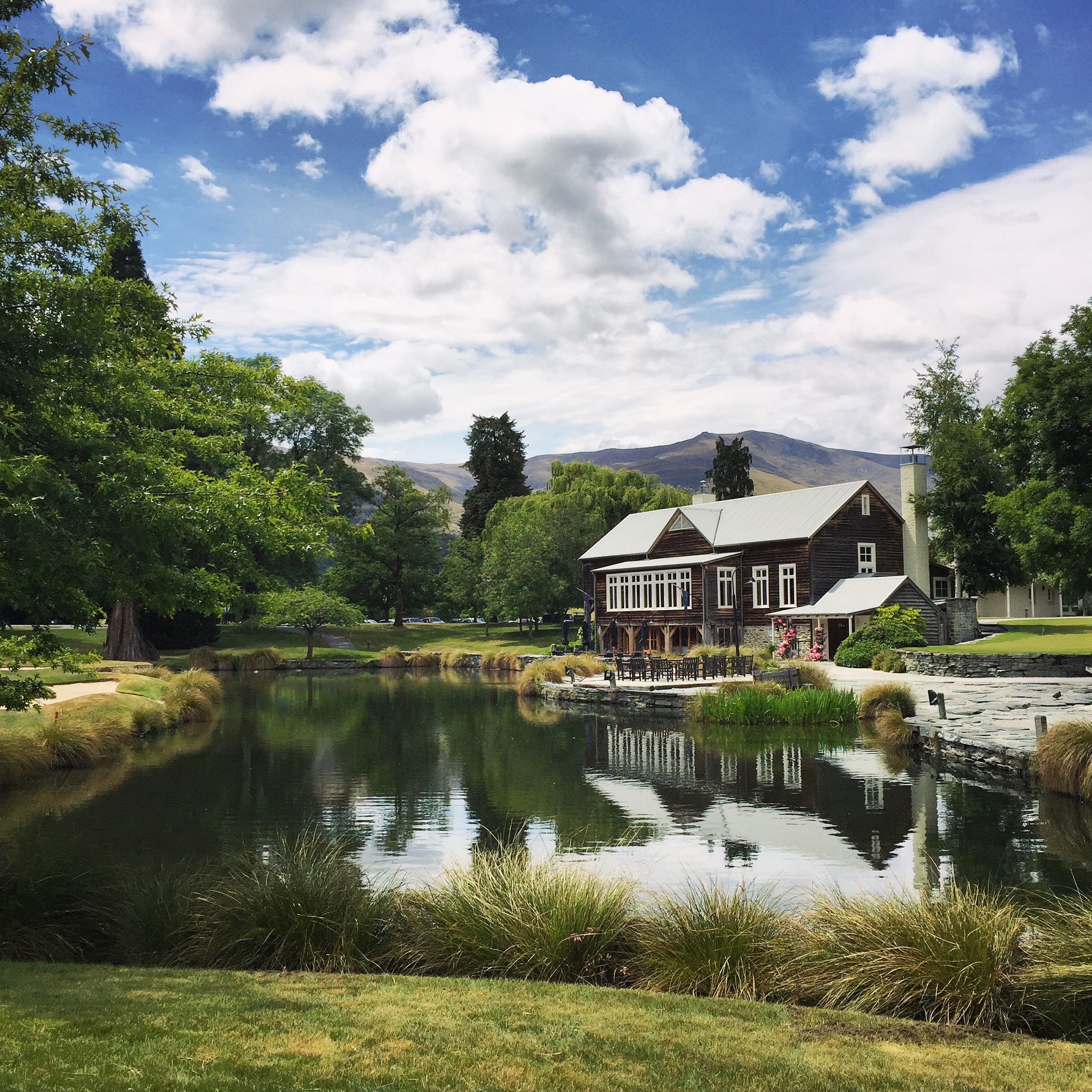 Pristine and picturesque grounds at the Millbrook Resort