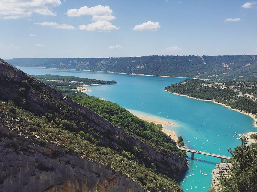 Lake of Sainte Croixe