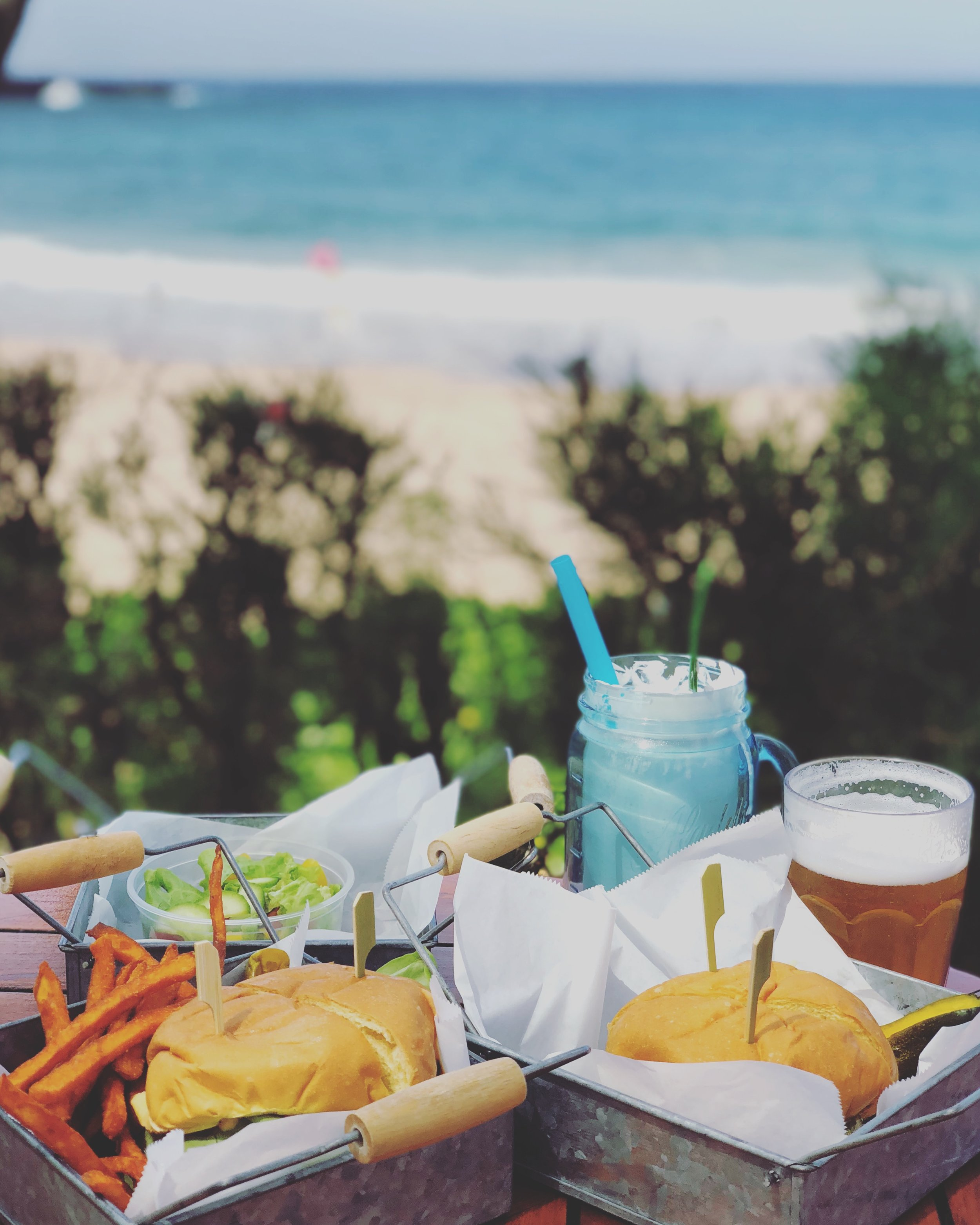 Burgers and shakes with a view at the Ritz Carlton's Burger Shack