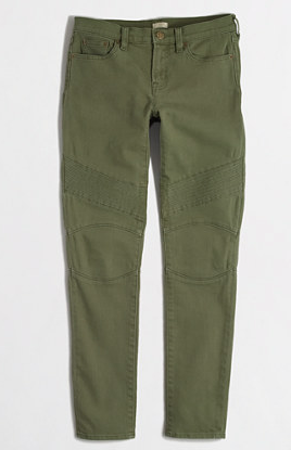 JCrew Factory Detailed Skinny Pant
