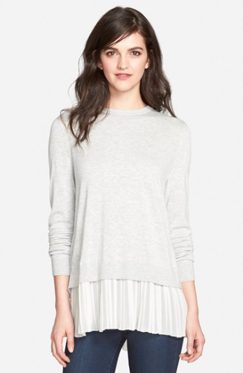 http://shop.nordstrom.com/s/chelsea28-pleated-hem-sweater/3947193?origin=keywordsearch-personalizedsort&contextualcategoryid=2375500&fashionColor=Burgundy+London-+Black&resultback=326