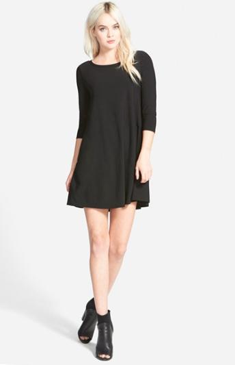 http://shop.nordstrom.com/s/leith-crepe-trapeze-dress/3971987?origin=keywordsearch-personalizedsort&contextualcategoryid=0&fashionColor=Black&resultback=226