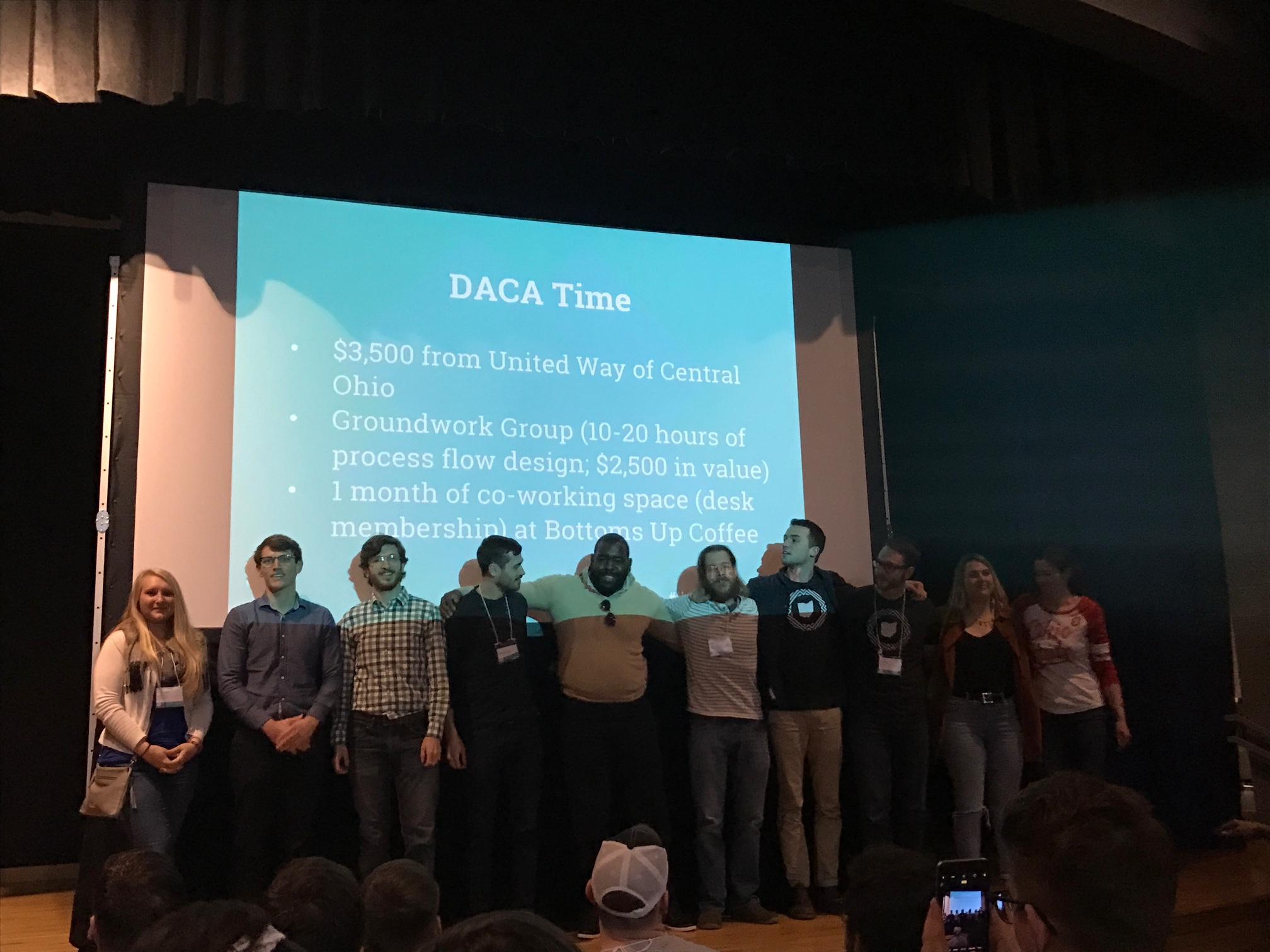 DACA Time on stage for the win!