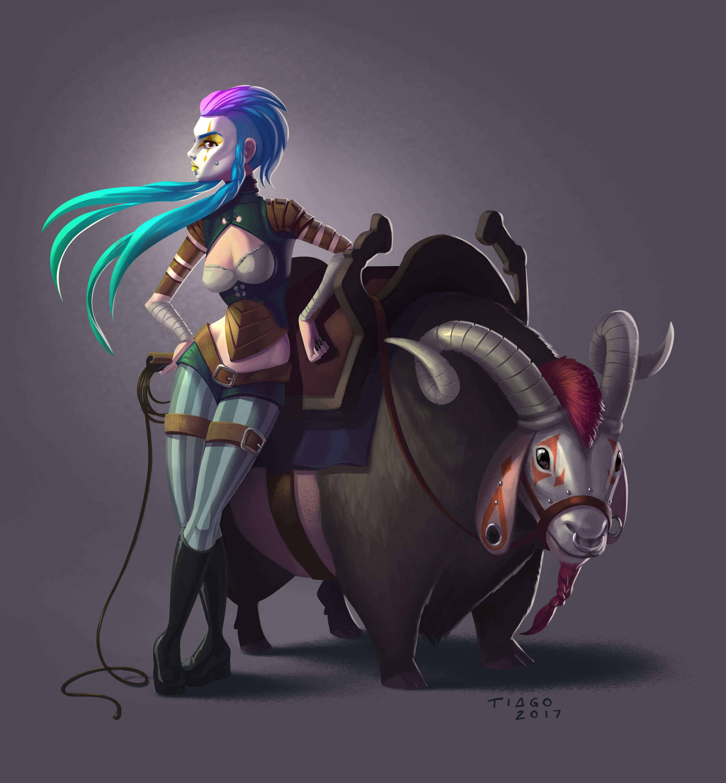 Participant of CGTraderAwards - Character Category - Goat Rider